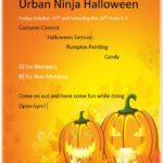 Urban Ninja Halloween